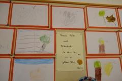 """Freies Malen zum Buch """"Die kleine Maus und das goldene Blatt"""""""