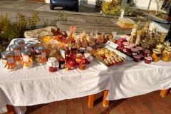 Herbstmarkt 2019, Bastelarbeiten, Marmeladen, Backwaren... der Kindergarten hat einiges angeboten