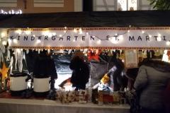 Kindergartenstand auf dem Nikolausmarkt