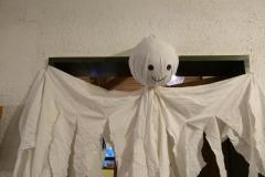 """Gespensterdeko im Fasching zum Thema """"Das kleine Gespenst"""""""